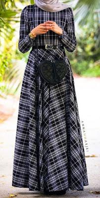 Gaun Pesta Muslimah Yang Elegan dan Anggun