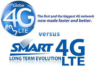 Smart vs. Globe LTE comparison