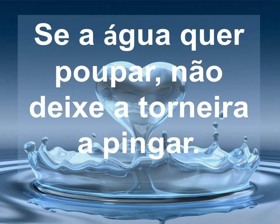 Ecoteen Frase Do Dia Poupança Da água