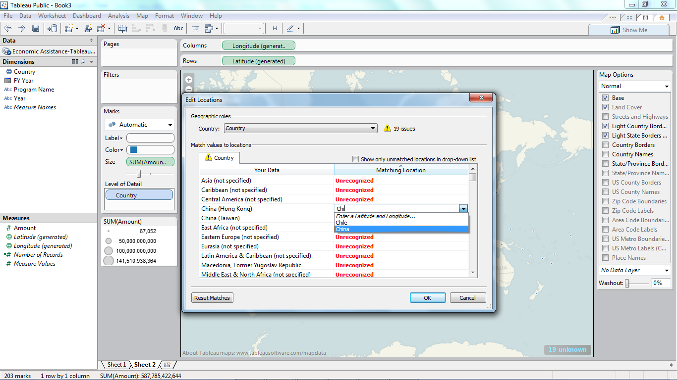 this is the map options dialog box that appears on the right side of the screen
