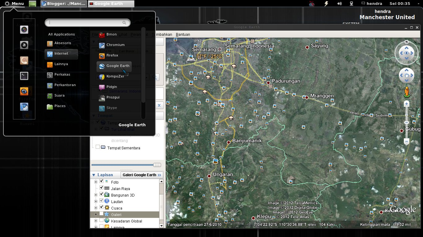 Install Google Earth in Linux