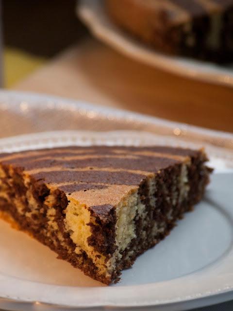 marbré, marbré italien, gateau marbré italien, recette gâteau marbré