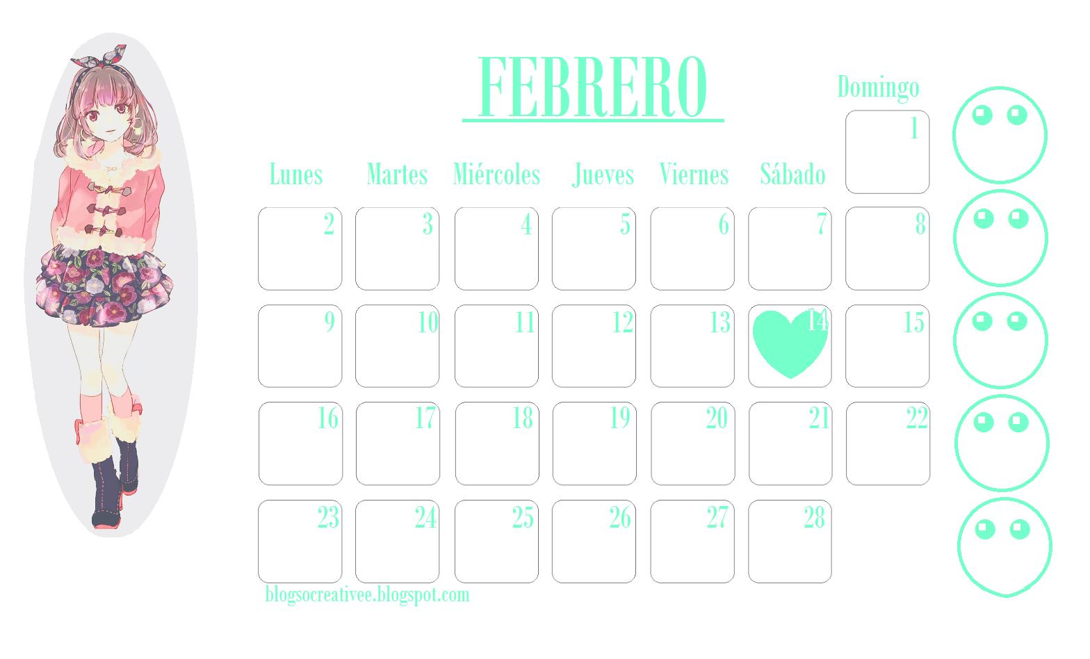 calendarios para imprimir gratis 2015