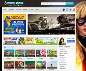 Share Template Blogspot Games đẹp