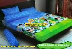 Harga Sprei Doraemon Jual