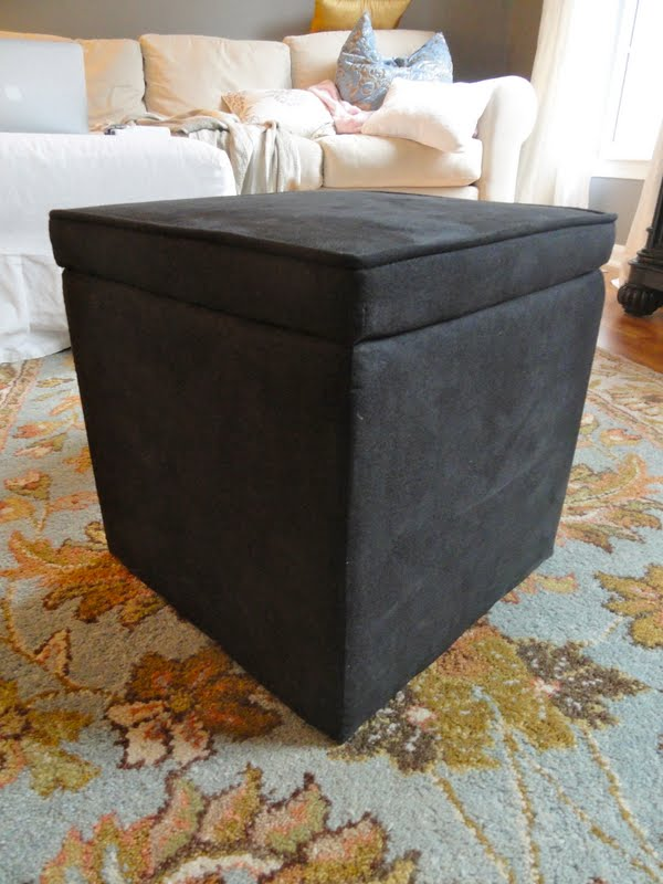It wasn't the prettiest thing, and it didn't really match anything else in  the living room, so I made a slipcover for it! As with all of my sewing  projects, ... - Rachel's Nest: Ottoman Slipcover