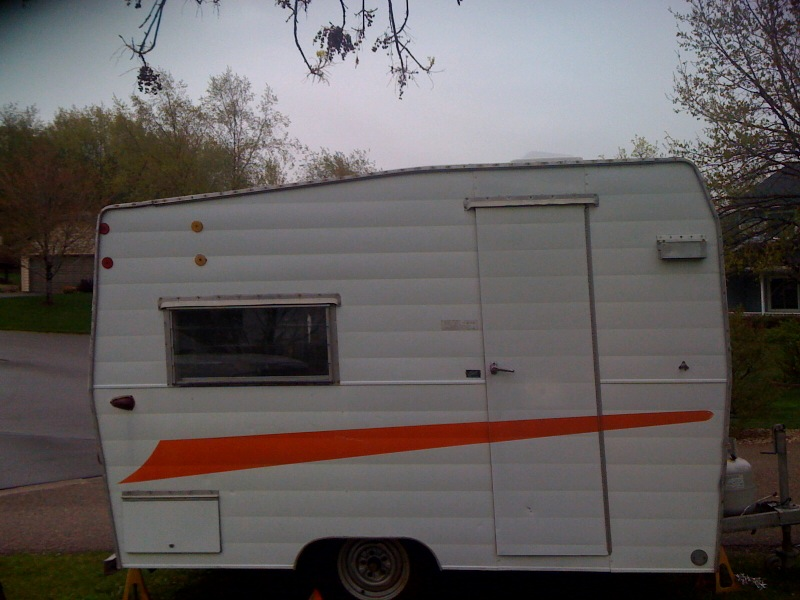 Here Is The Exterior Shot Of Door Side Camper