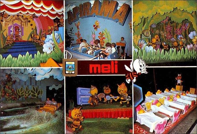 Exceptionnel Les Mémoires de Meli Park: Meli Park dans les années 70 YP81
