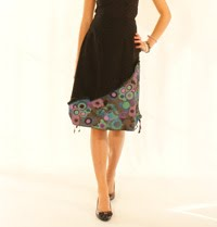 A-line skirt