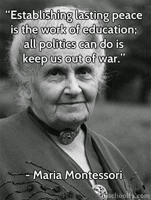 Montessori education, early childhood
