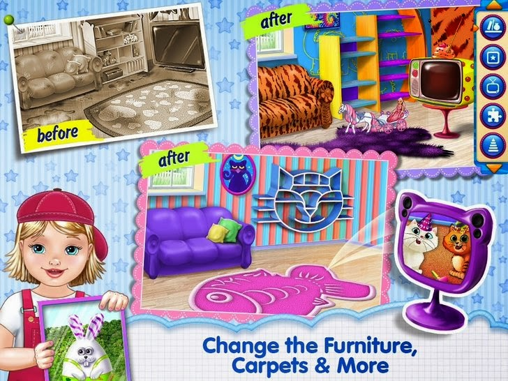 Baby Room Makeover - Extreme Edition! App iTunes App By Kids Fun Club by TabTale - FreeApps.ws
