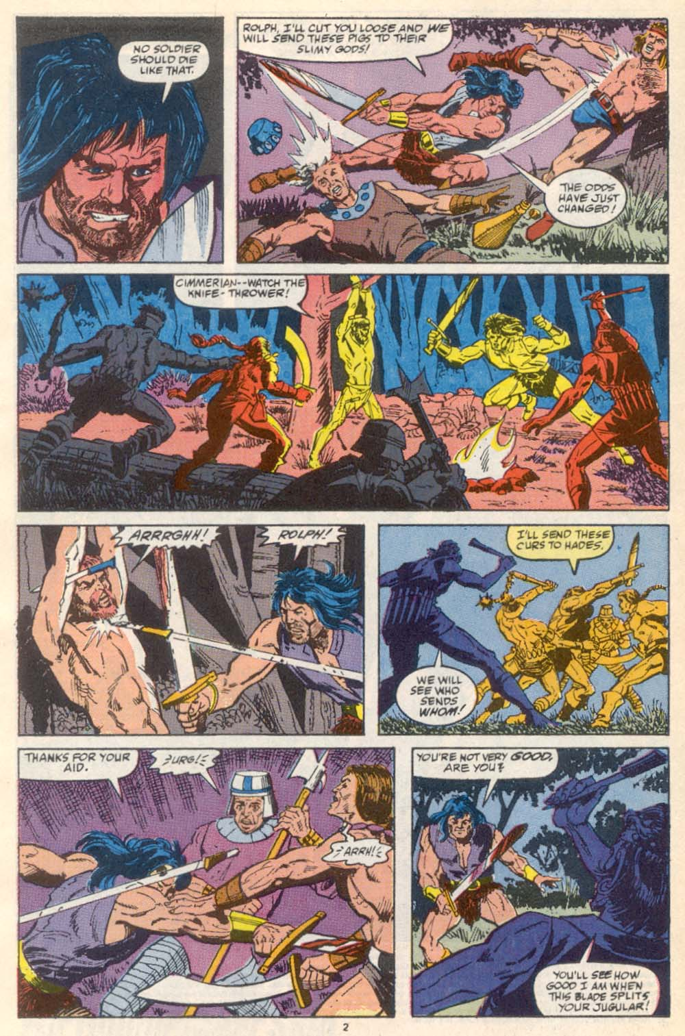 Conan the Barbarian (1970) Issue #222 #234 - English 3