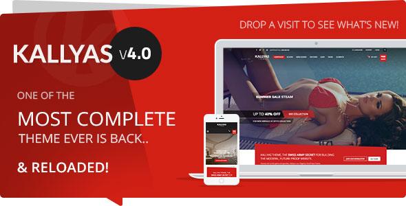 Free Download KALLYAS V4.0.1 Responsive Multi-Purpose WordPress Theme