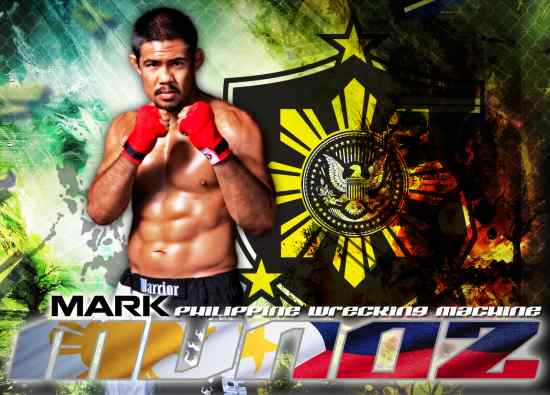 ufc mma middleweight mark munoz picture image