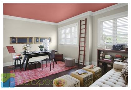 Tren Warna Cat 2014 Rumah Minimalis