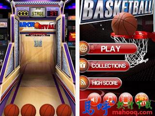 瘋狂籃球 Basketball Mania APK / APP Download,投籃機 APP,Android 手機版投籃機遊戲下載