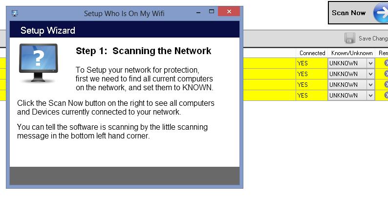 Scopri gratis chi ruba connessione wifi - Step 1