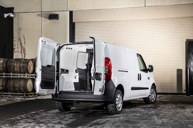 Cargo doors open on 2015 Ram Promaster City Tradesman