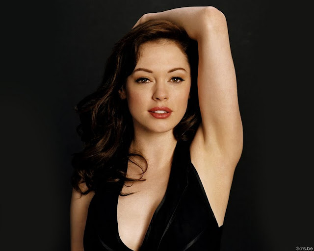 Actress Rose McGowan