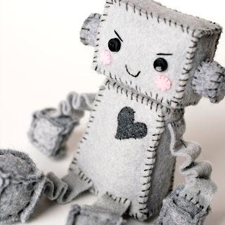 Snarky Robot Plush