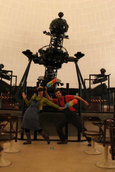 Spettacolo di astronomia per bambini al planetario di Milano sabato 25 maggio