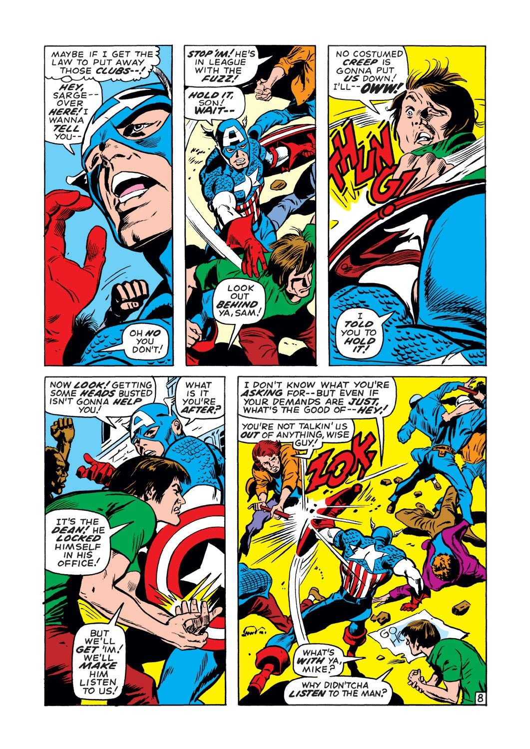 Captain America (1968) Issue #130 #44 - English 9
