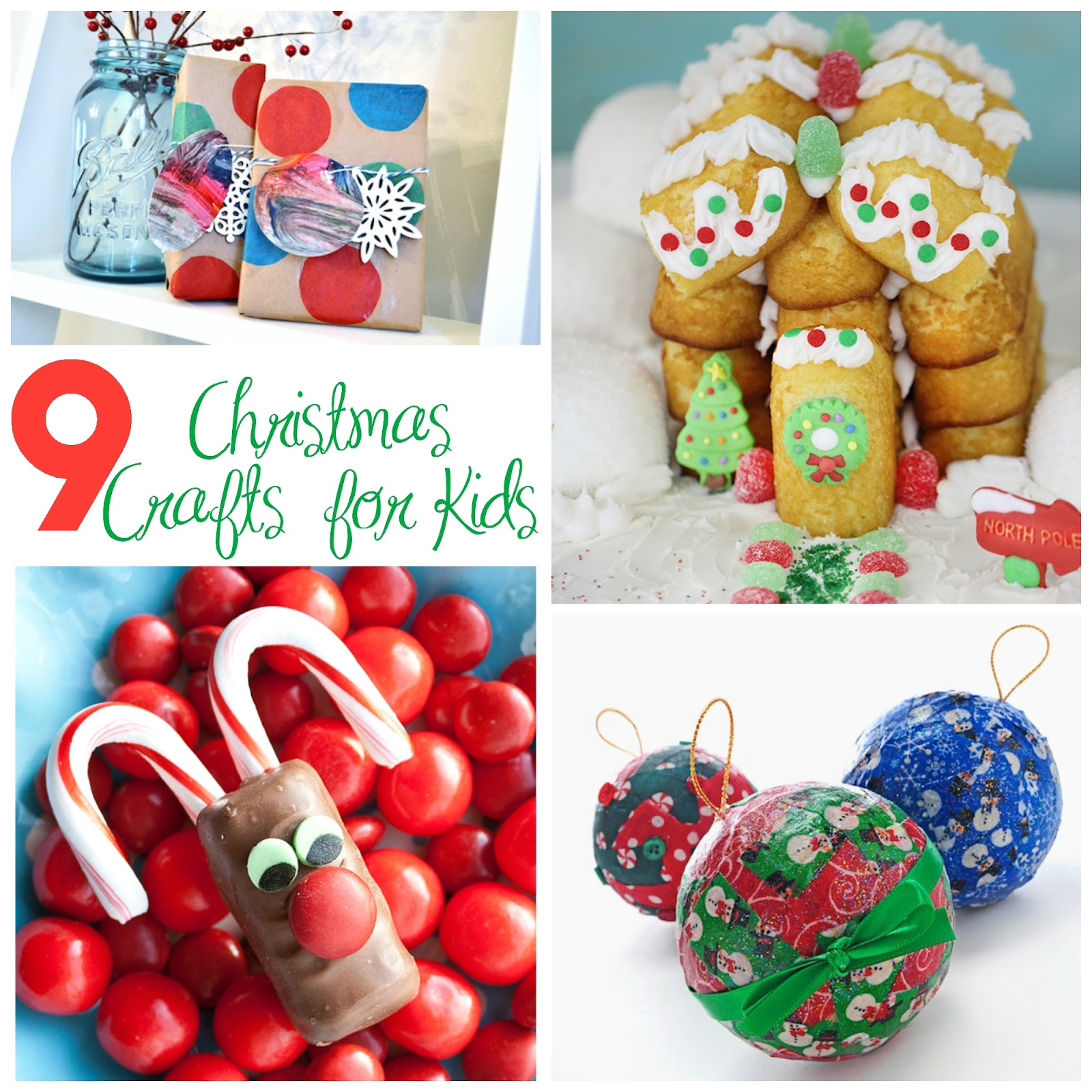 9 christmas crafts and activities for kids mom needs for Free christmas crafts for kids
