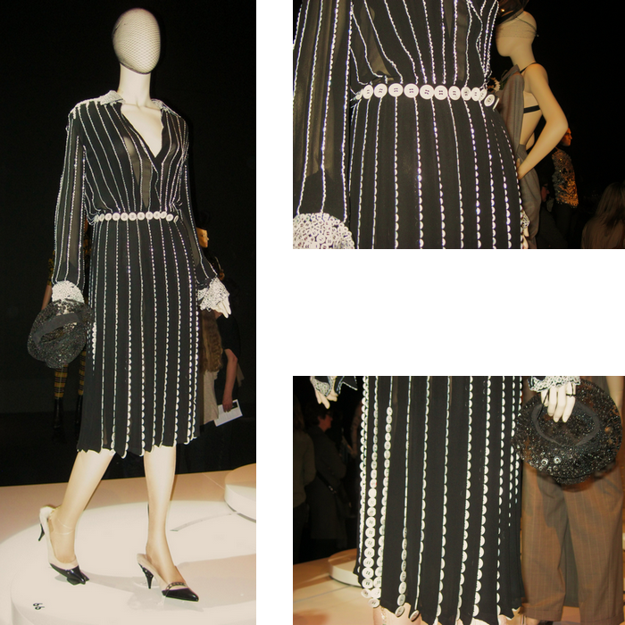 Jean Paul Gaultier Kunsthal Knopen Buttons Dress Jurk