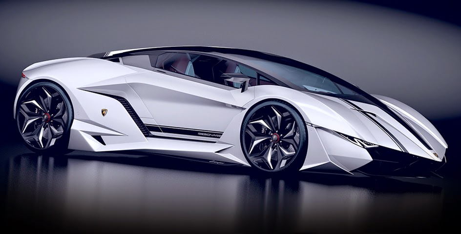 2014 Lamborghini Resonare Concept Dark Cars Wallpapers