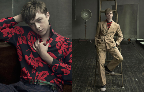 Dane DeHaan by Annie Leibovitz for Prada Menswear SS14