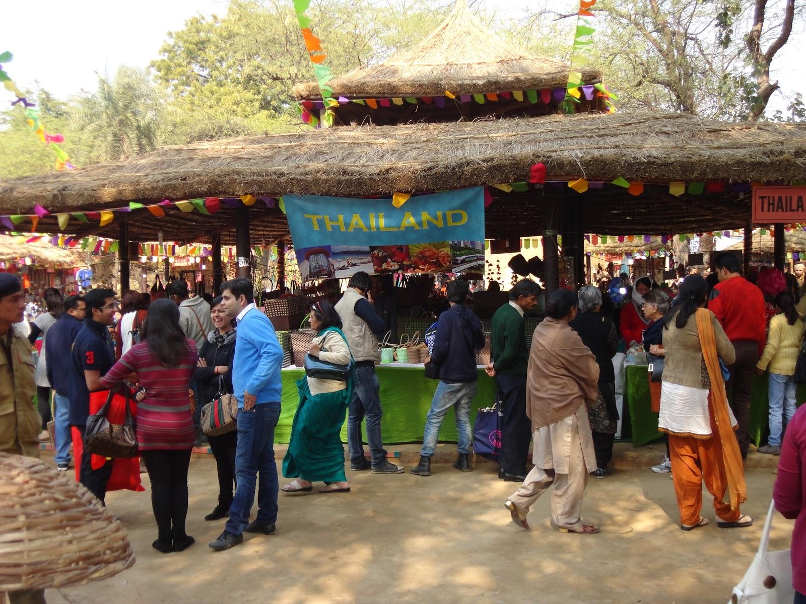 Thailand Stall at Surajkund Crafts Mela ,India