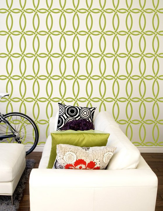 Stencilmania: How A Simple Stencil Changes Your Walls, Furniture, Floors  And More