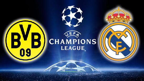 ������ ������ ���� ����� ������� �������� �� ����� 2-4-2014 Real Madrid Vs Borussia Dortmund live ريا%D