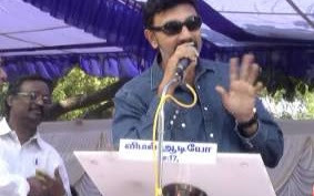 Sathyaraj Speech at Tamil Film Industry Protest Against Service Tax