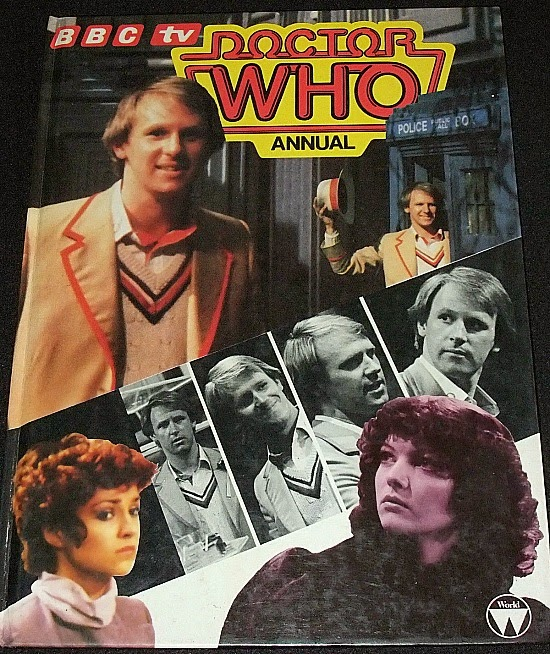 Docotr Who Annual 1983 featuring Peter Davison