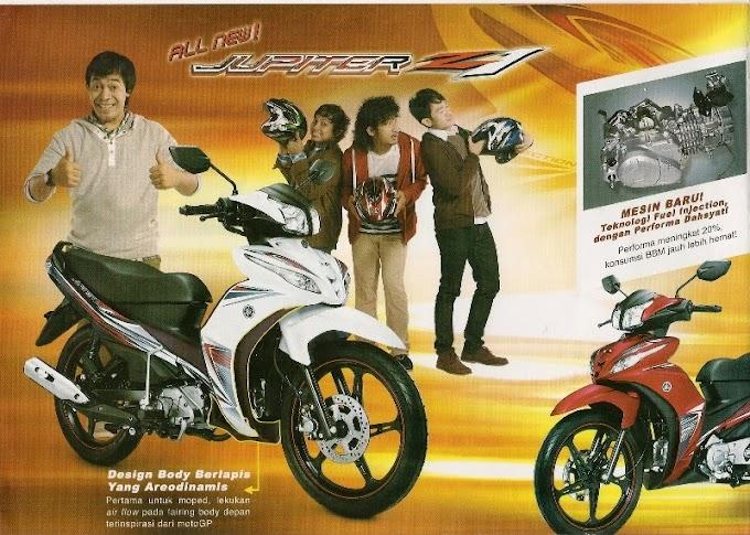 Catatan Waktu Yamaha Jupiter Z1