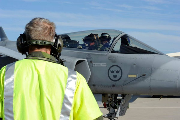 Swedish Air Force Jets Train With NATO Allies Abd Partners For Trident Juncture In Portugal