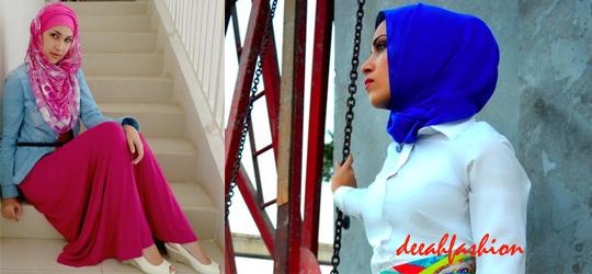 Modern Hijab Style Jilbab Modern 2014
