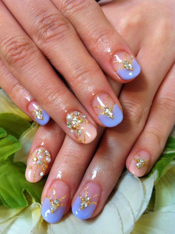 ♥Cute Nail Designs♥: Spring Mix Nails by Ayano