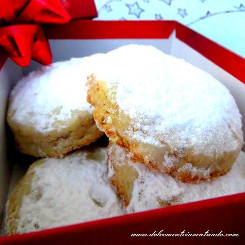 lo speciale dolci di natale di taste & more e i miei polvorones, biscotti spagnoli e messicani