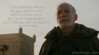 I am Barristan Selmy