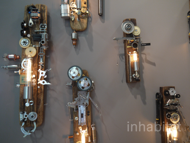 The Art Of Up Cycling Lampshades From Recycled Materials