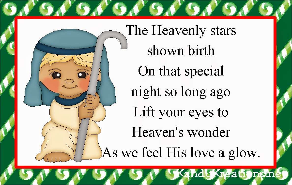The Heavenly stars  shown birth On that special  night so long ago Lift your eyes to  Heaven's wonder As we feel His love a glow.
