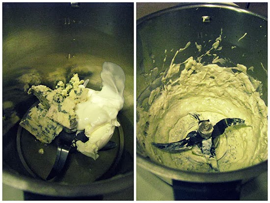 Crema al Roquefort con il Bimby