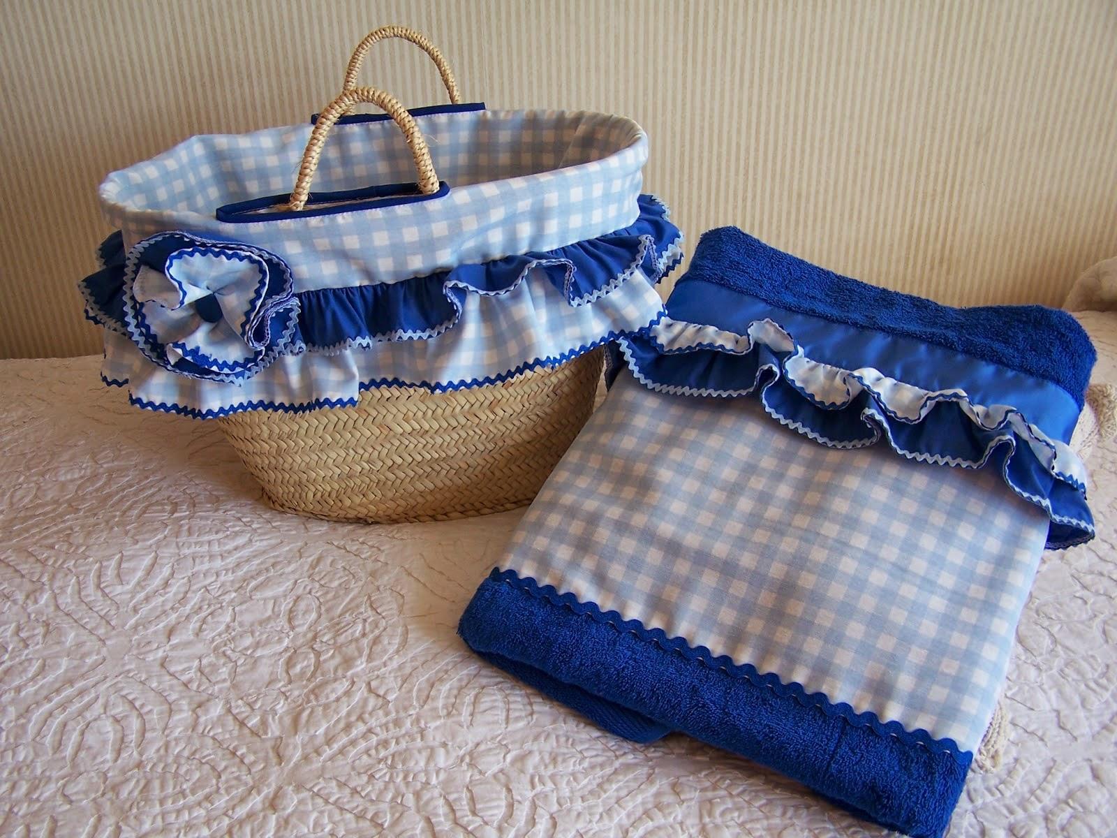 Arancha santos conjuntos de cestos y toallas de piscina for Toallas piscina