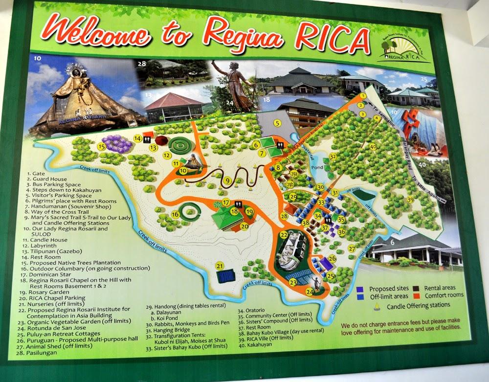 Our Visit to Mama Mary Regina RICA Regina Rosarii in Tanay Rizal