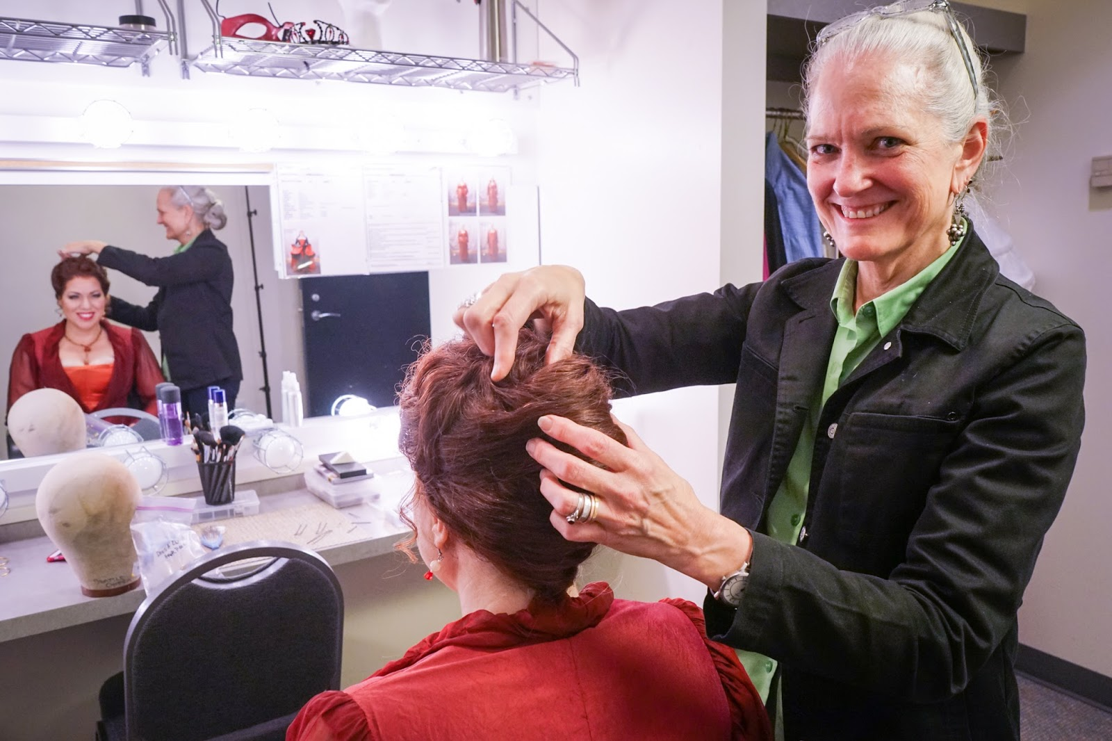 Joyce Degenfelder Seattle Operau0027s Hair and Makeup Designer has created wigs for nearly every Seattle theater company under the sunu2014from PNB to Seattle ...  sc 1 st  Seattle Opera Blog & Seattle Opera Blog: Staff Chat with Hair and Makeup Designer JOYCE ...