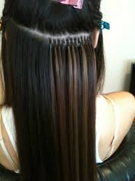 Individual hair extensions celebrity hair extensions what do what do individual hair extensions mean it means that hair extensions are applied to natural hair strand by strand rather than piece by piece pmusecretfo Image collections