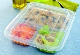 Embalagem Galvanotek para marmitex na Cozinha do Quintal