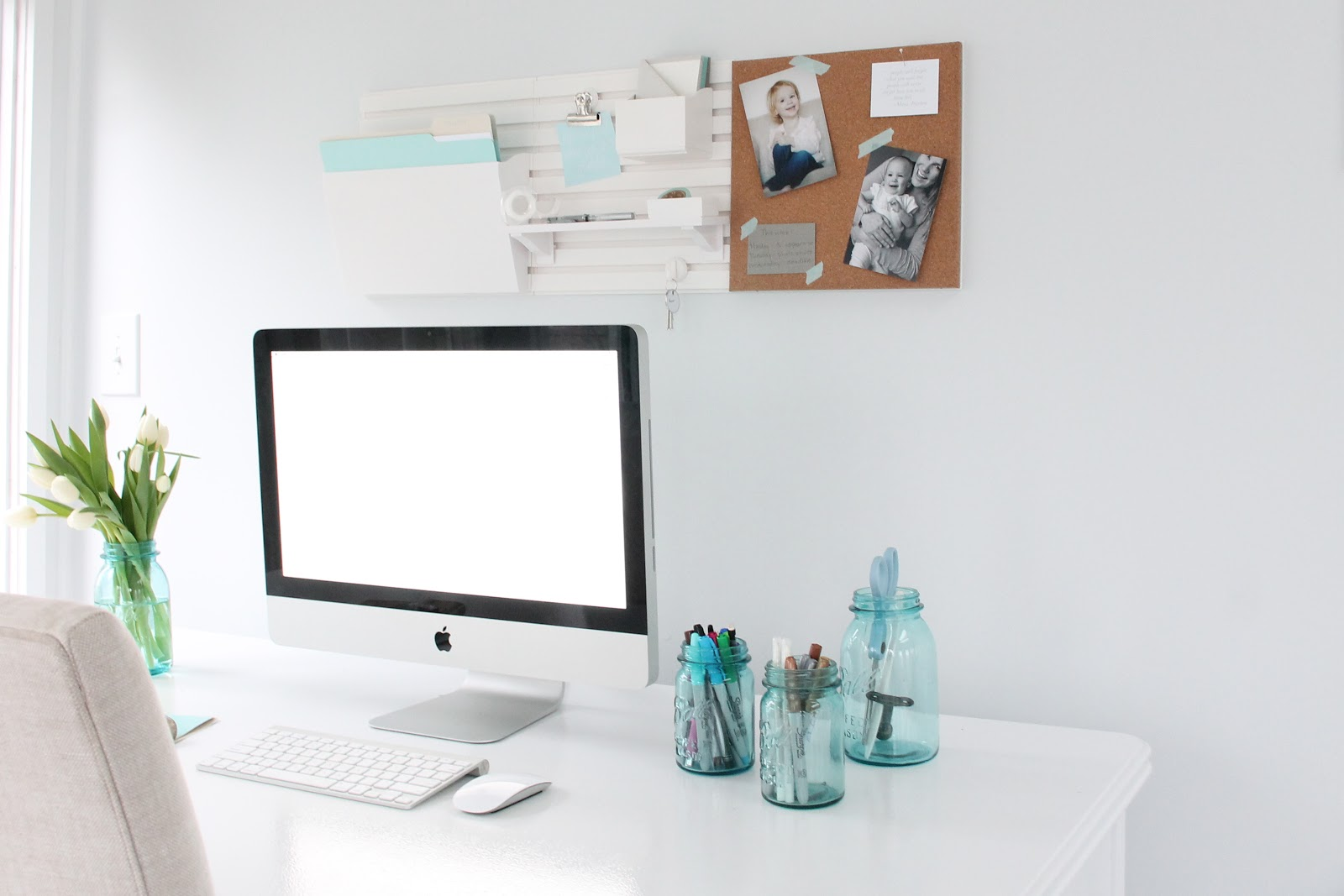 Tips To Create A Beautiful, Organized And Inspired Office   Martha Stewart  Wall System